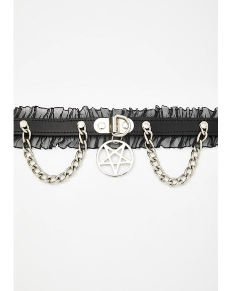 Join Hands Pentagram Choker