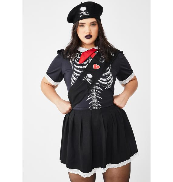 Dolls Kill Forever Dead Scout Costume Set