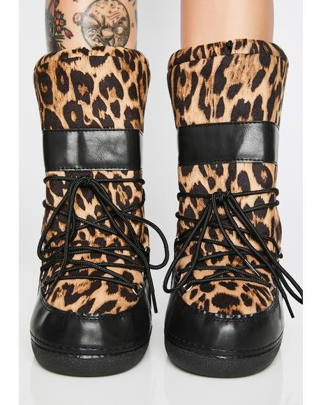 Wild For The Nite Boot Slippers