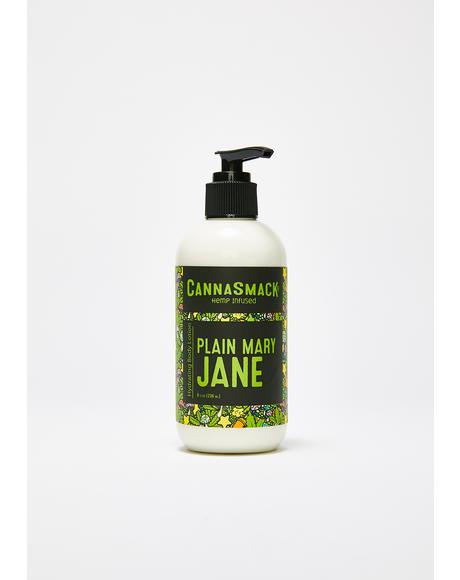 Plain Mary Jane Hydrating Hemp Body Lotion