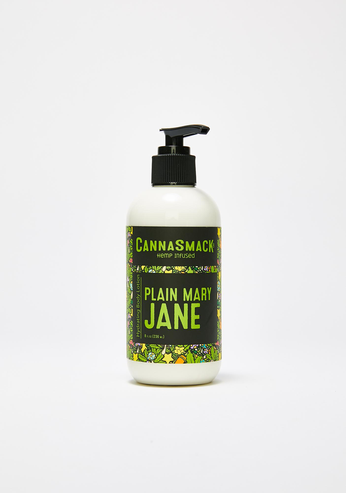CannaSmack Plain Mary Jane Hydrating Hemp Body Lotion