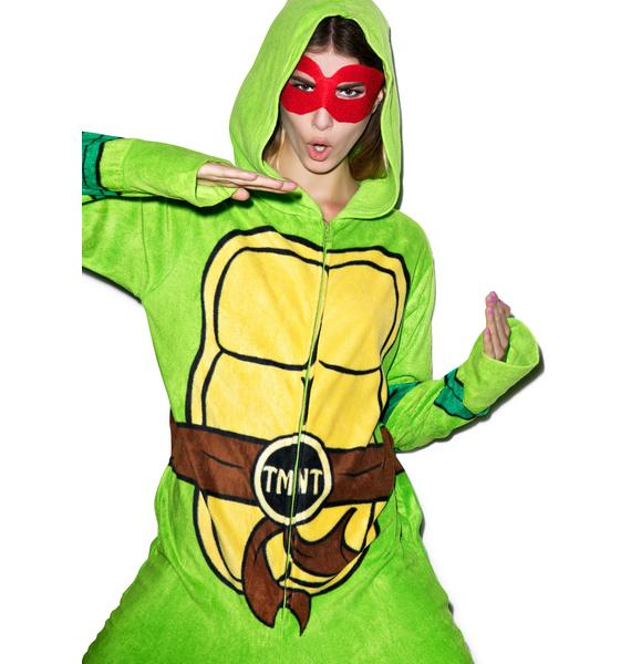 Undergirl Teenage Mutant Ninja Turtles Hooded Onesie