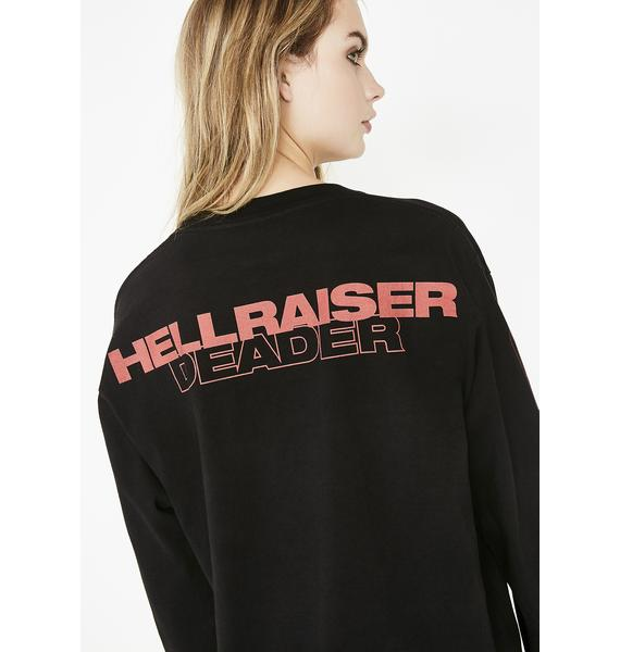 Dumbgood Hellraiser Deader Long Sleeve T-Shirt