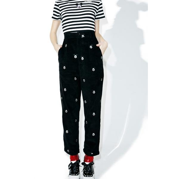 Lazy Oaf X Disney Mickey Mouse Cord Trouser