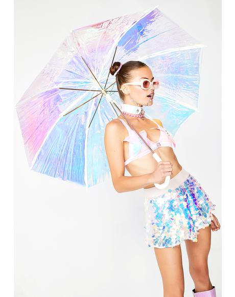 Cosmic Reign Hologram Umbrella