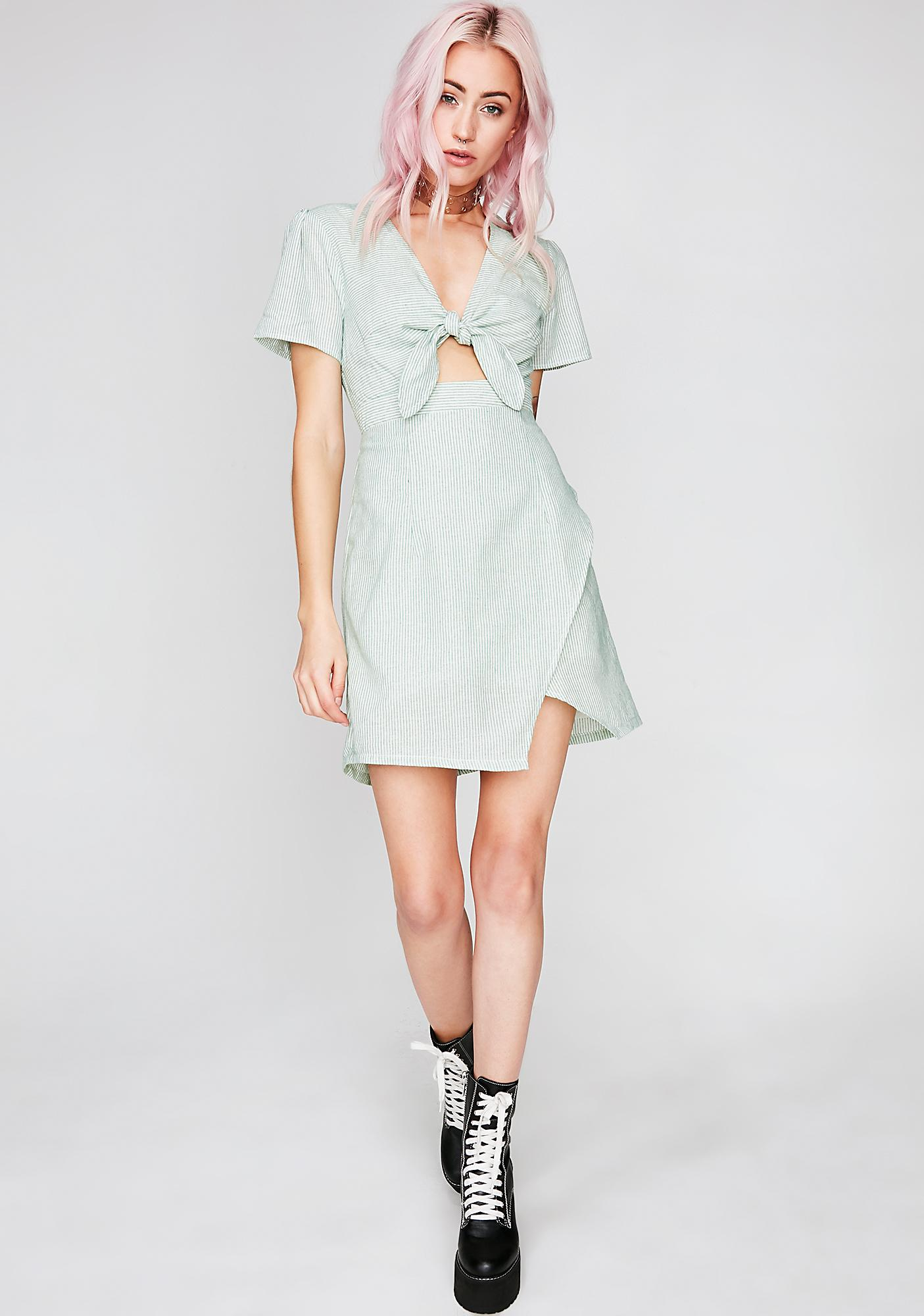 Tea Party Stripe Dress
