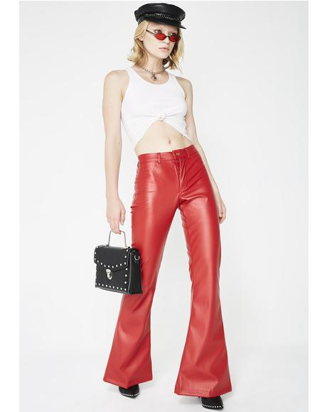 Bad To The Bone Flared Pants