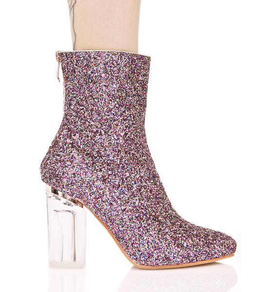 Amethyst Constellation Boots