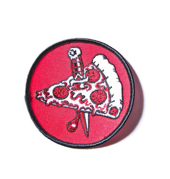 Pizza Knife Patch
