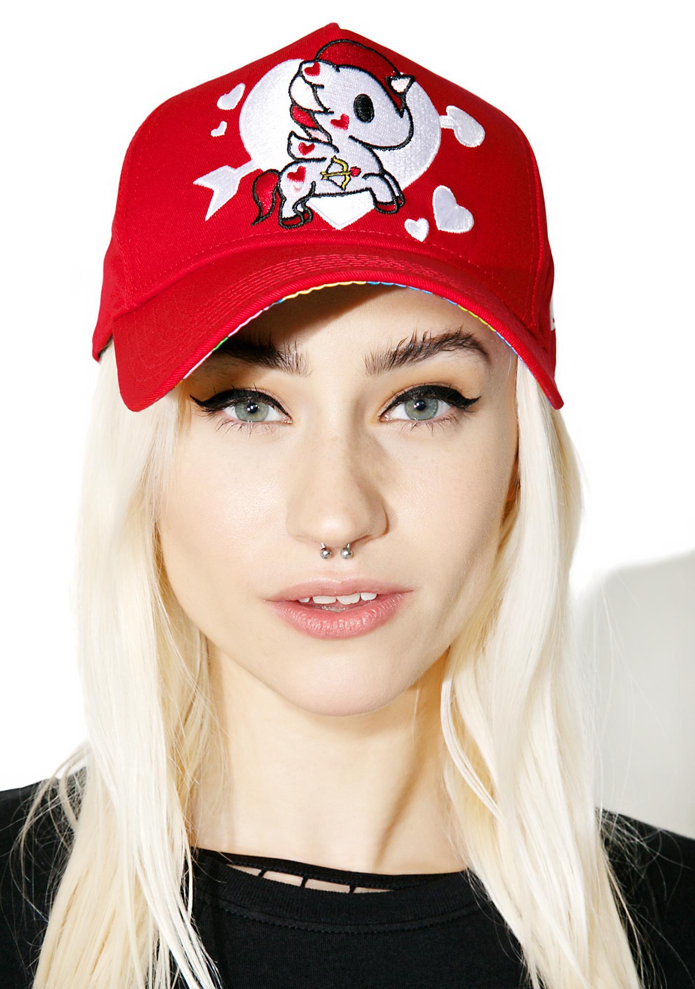 Tokidoki Valentine Trucker Hat