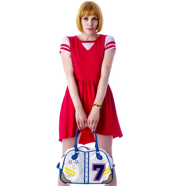 Rebel Yell Football Mini Dress
