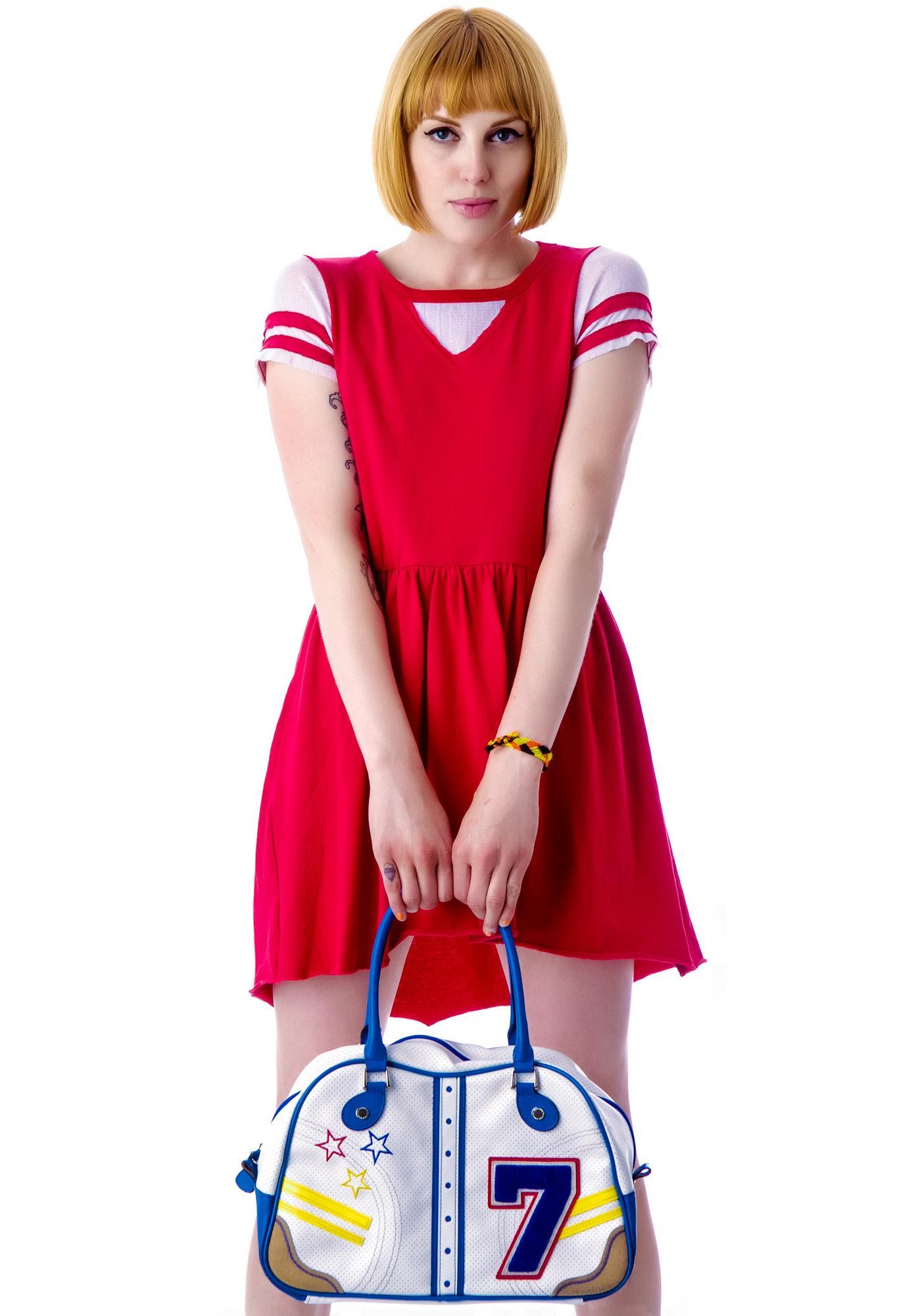 Rebel Yell Football Mini Dress