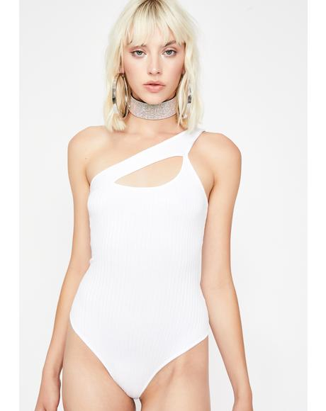 Icy Bad Intent Cutout Bodysuit