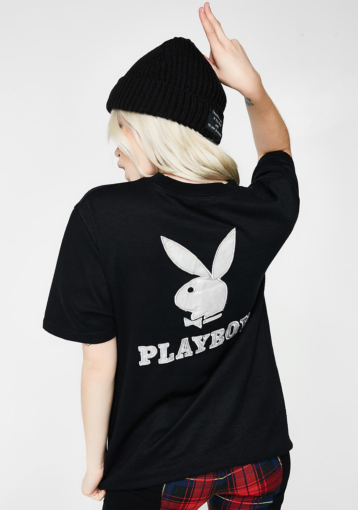 Vintage Playboy Embroidered Tee
