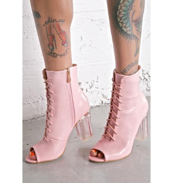 Blushin' Jupiter Lace-Up Boots