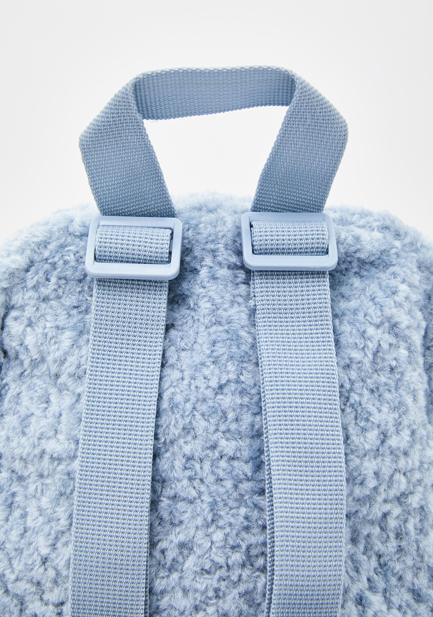 Dickies Dusty Blue Sherpa Mini Backpack