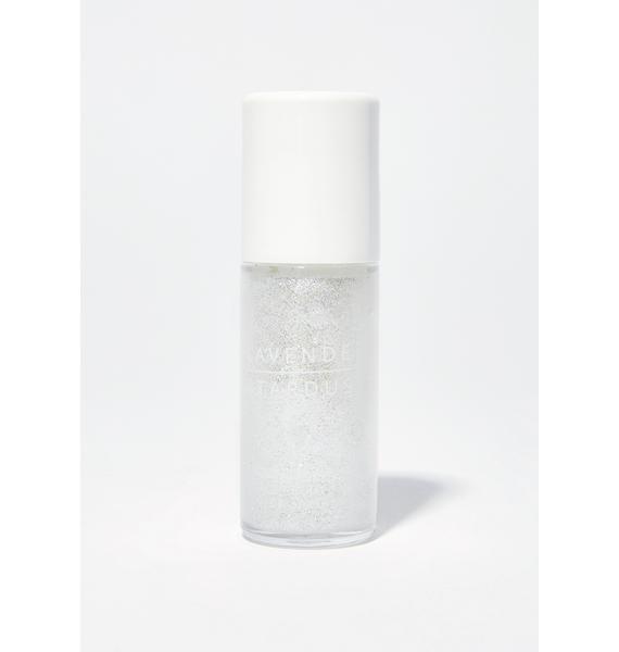 Lavender Stardust Quartz Crystal Roll On Glitter