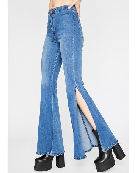 Movin' N' Groovin' Flare Jeans