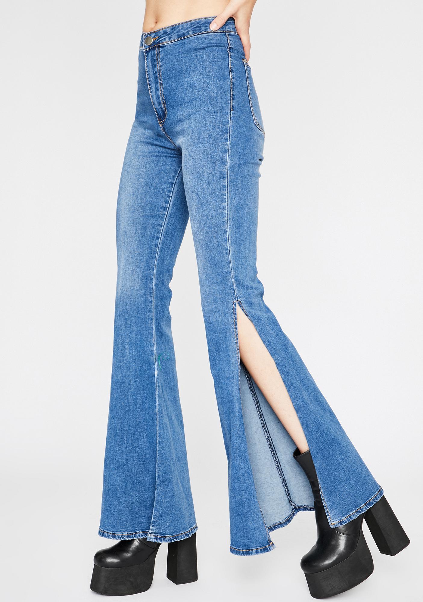 scarpe da skate acquista l'originale colori e suggestivi Movin' N' Groovin' Flare Jeans