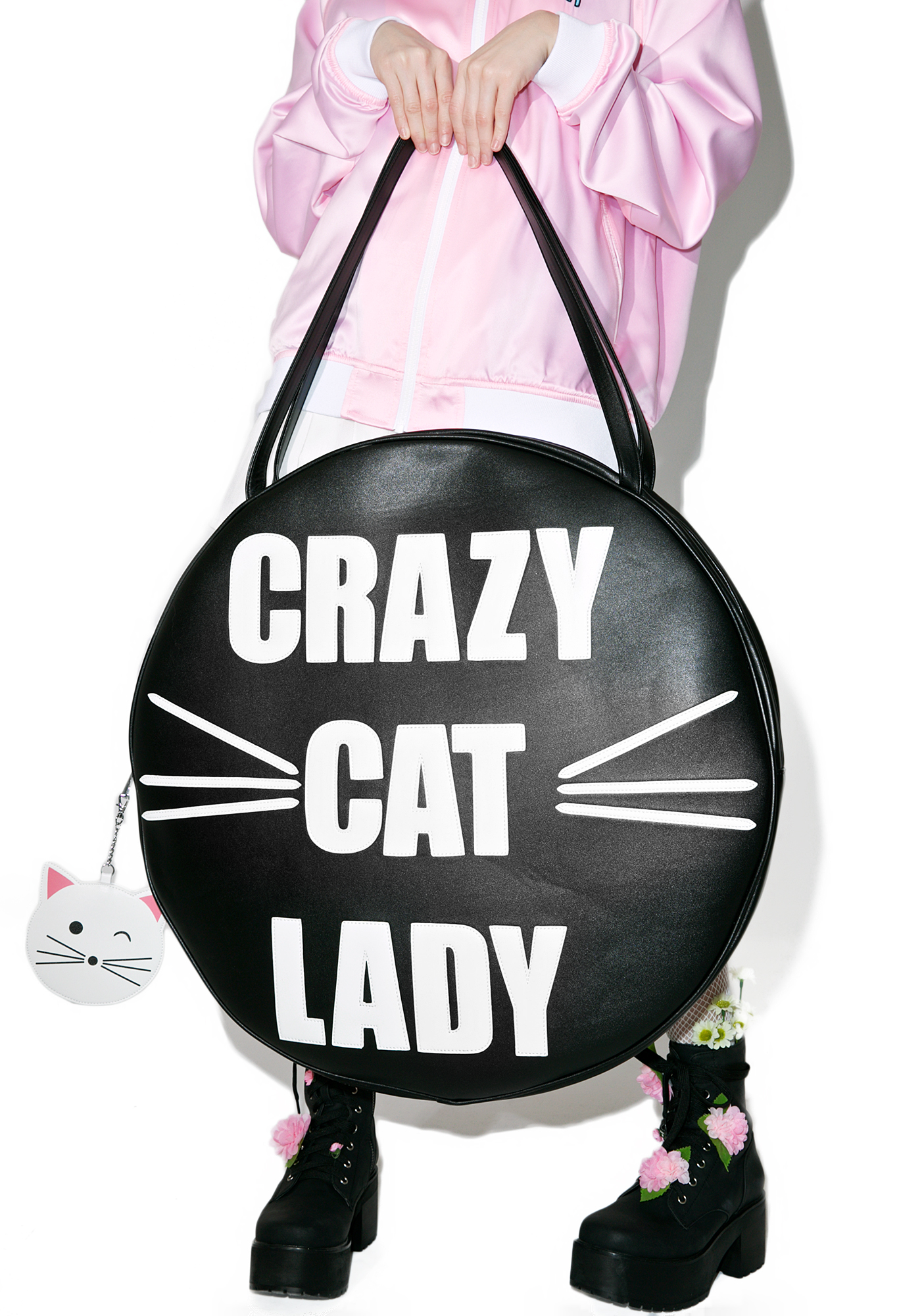 Current Mood Oversize Giant Cat Tote Bag