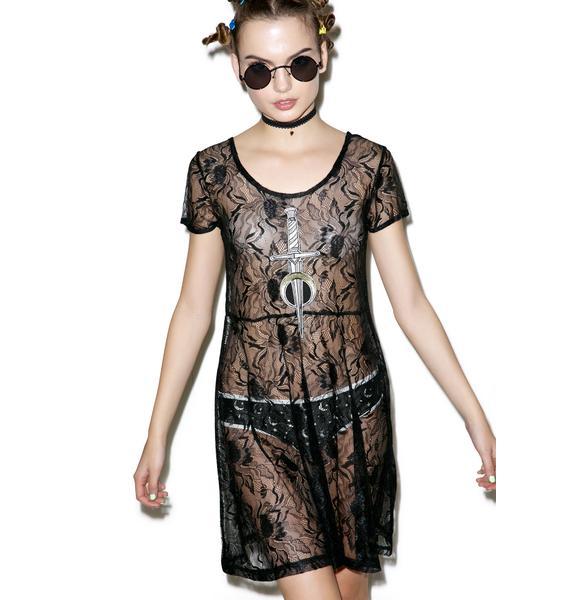 Disturbia Nightshade Dress