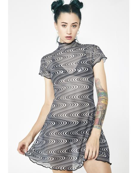 Timewarp Mesh Dress
