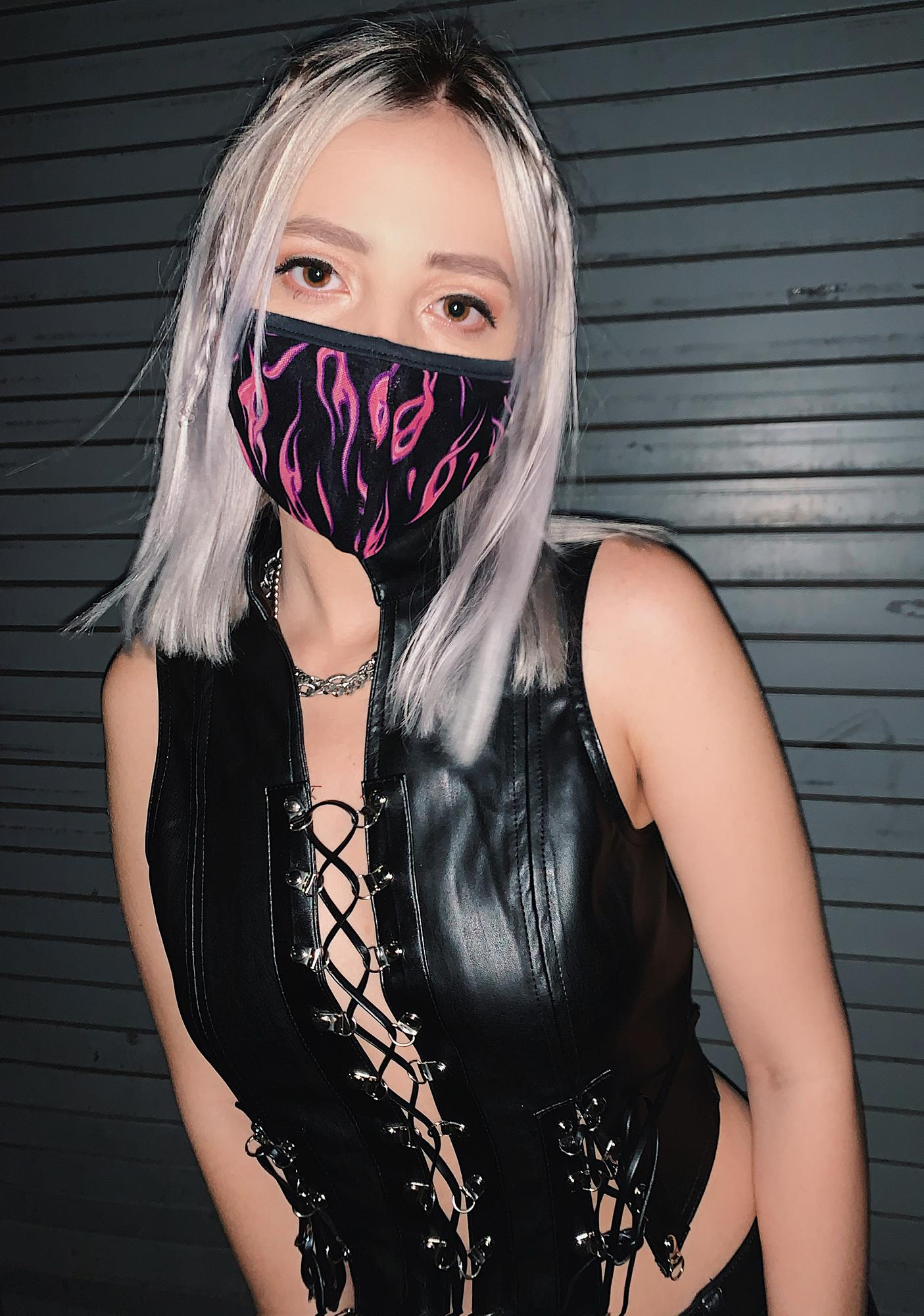 Hot Take Face Mask