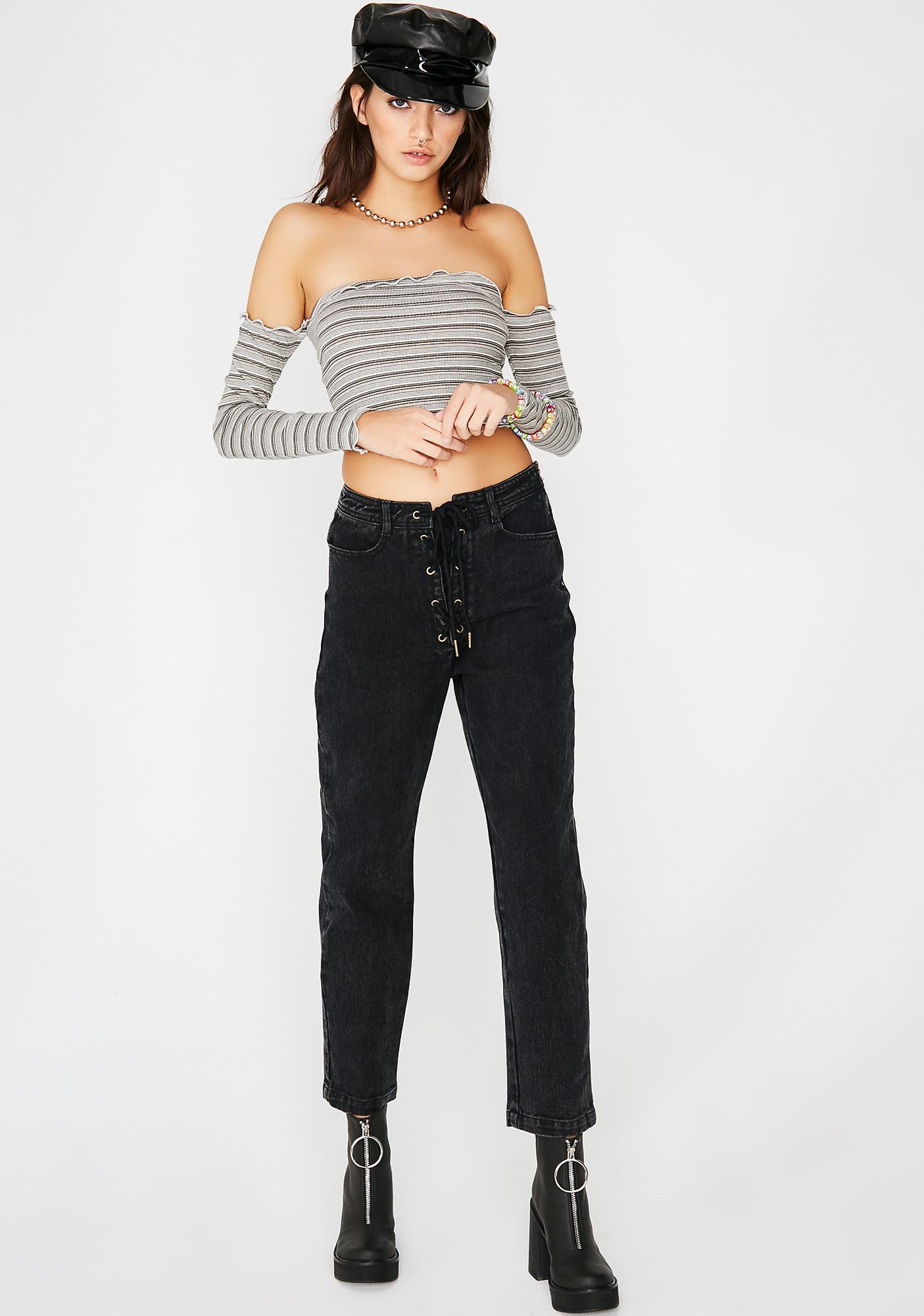 Feelin' Myself Crop Top