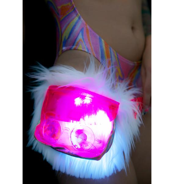 J Valentine Berserk Luvv Light-Up Waist Pack