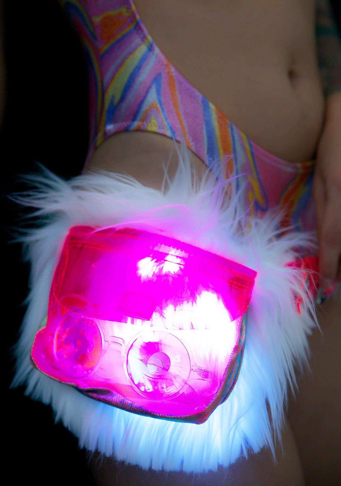 J Valentine Berserk Luvv Light-Up Waist Pack