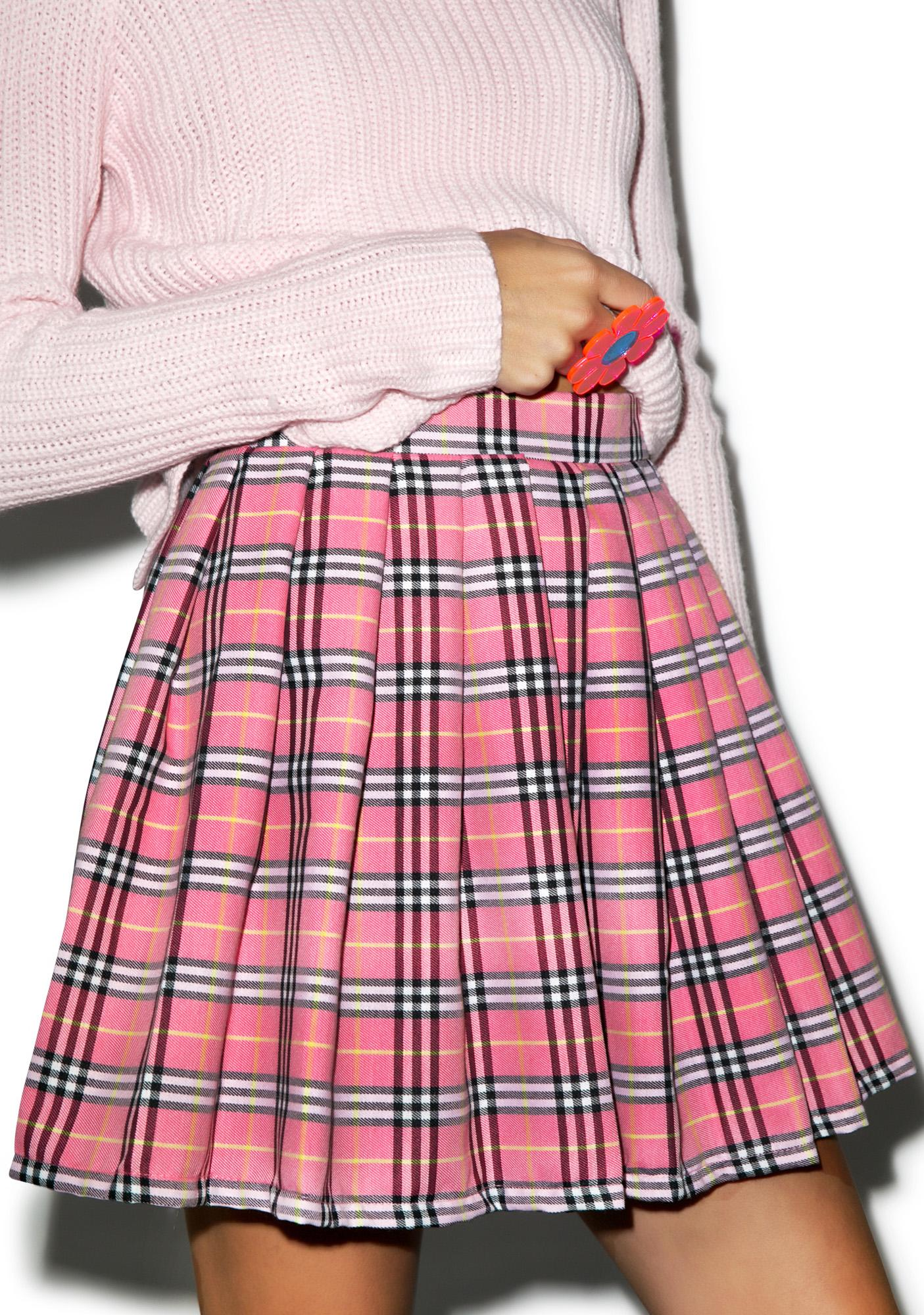 Reality Bites Baby Plaid Skirt | Dolls Kill