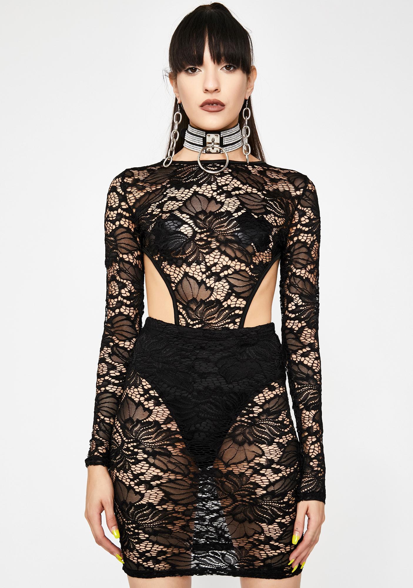 Diva Dominion Lace Dress