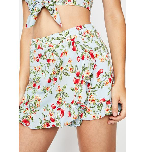 Everything You Want Cherry Skort
