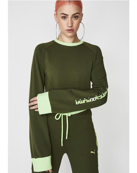 FENTY PUMA By Rihanna Laced Sweatshirt