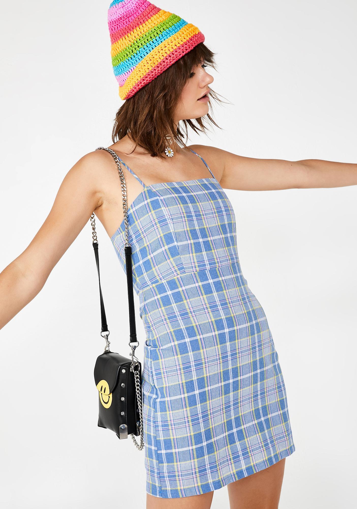 Sky Detention Bound Mini Dress