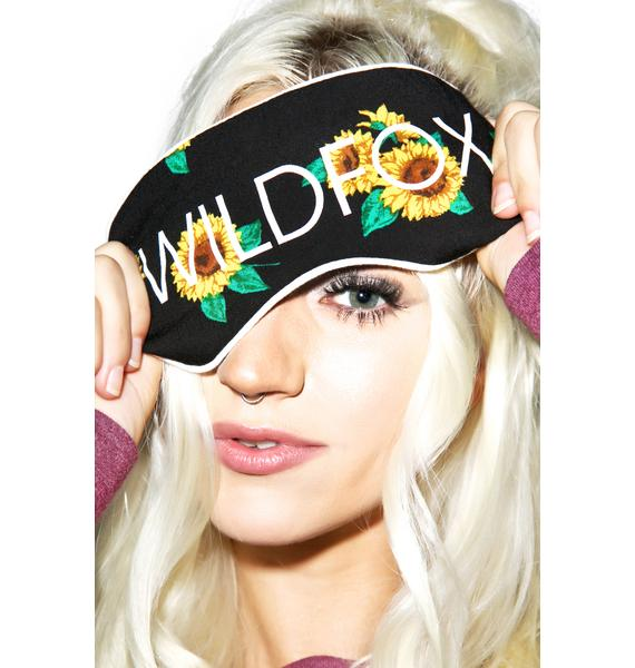 Wildfox Couture Contempo Sunflower Eyemask