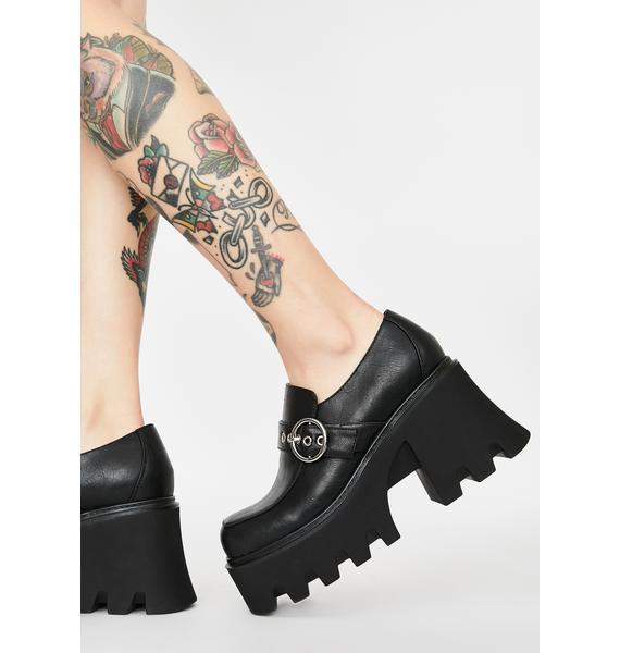 Current Mood Strict Business Platform Loafers