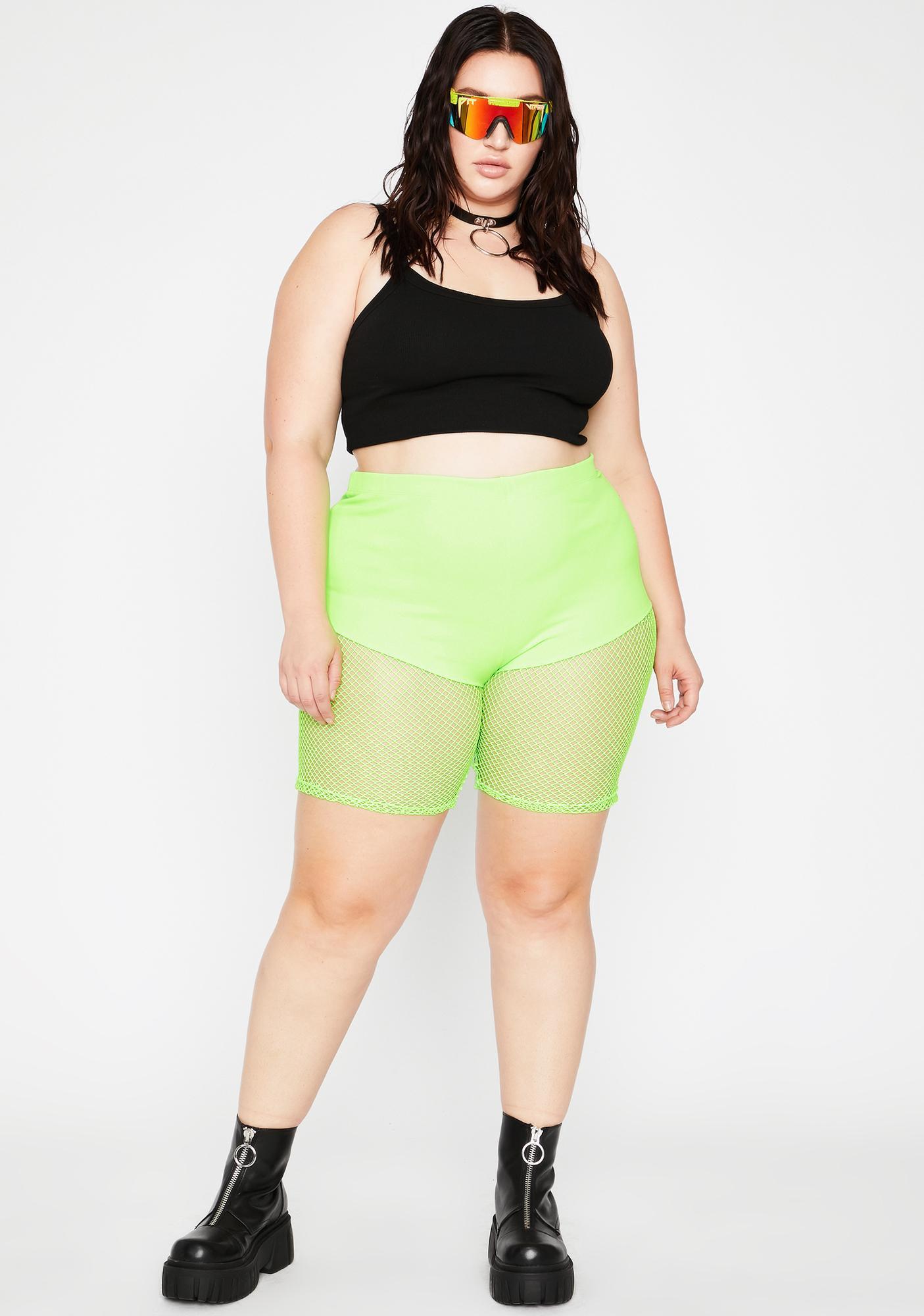 Acid OG Icon Mesh Biker Shorts