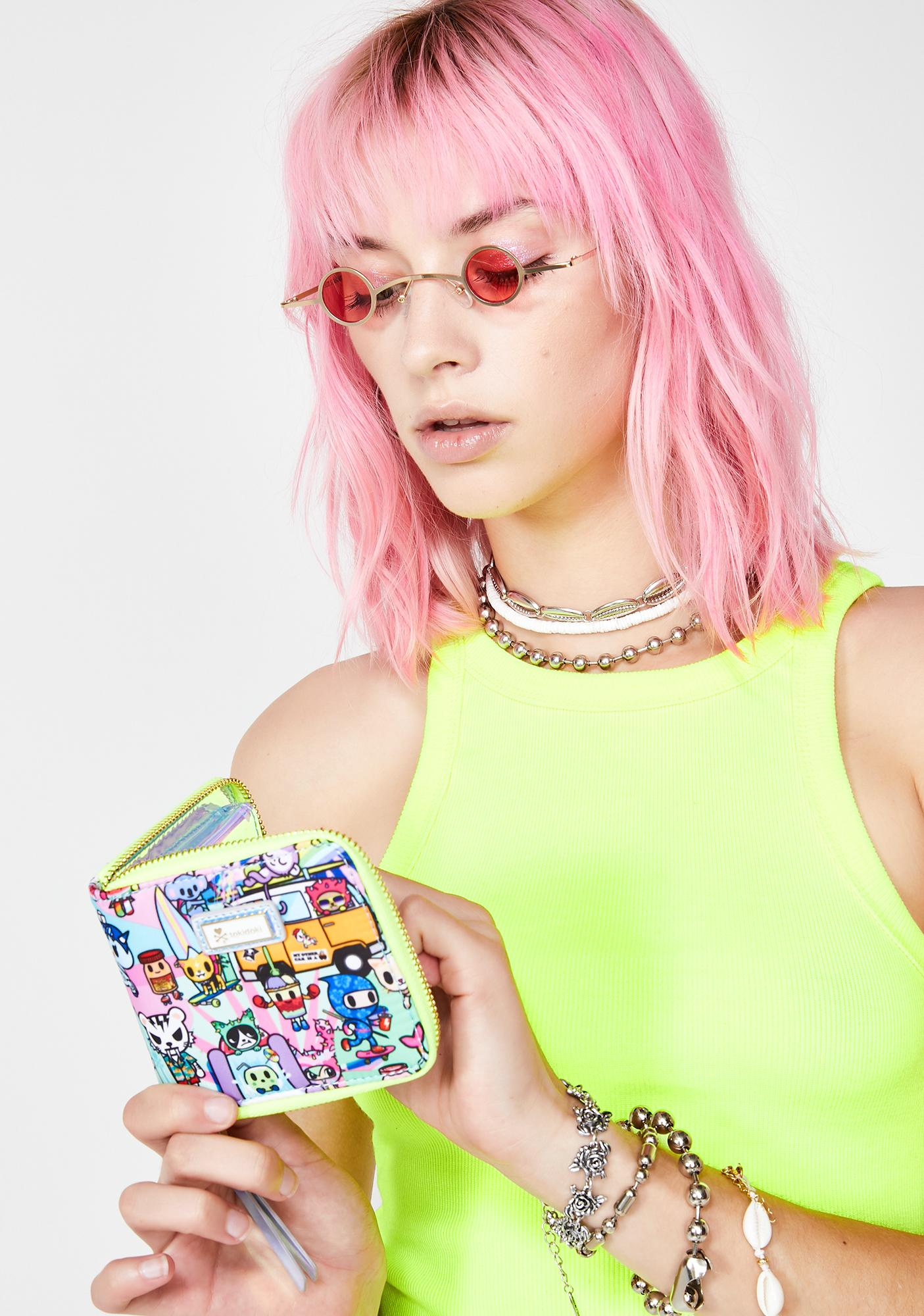 Tokidoki Pool Party Small Wallet