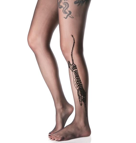 Bengal Tattoo Tights
