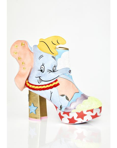Sweet Little Dumbo Booties