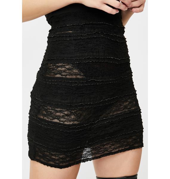 Kiki Riki Luxe Appeal Lace Skirt