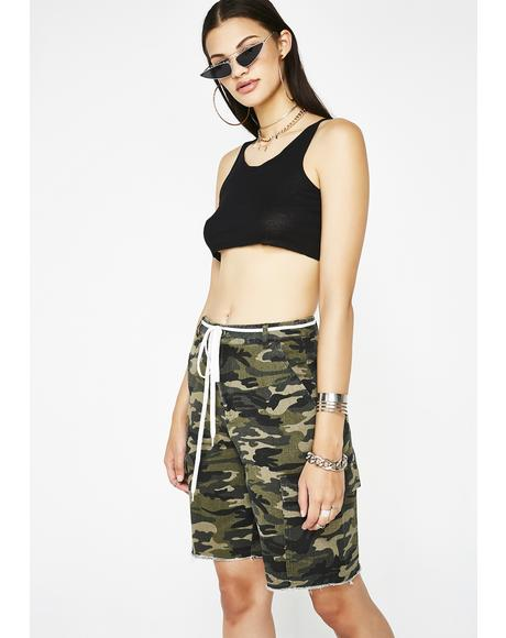 Battle Tactics Bermuda Shorts