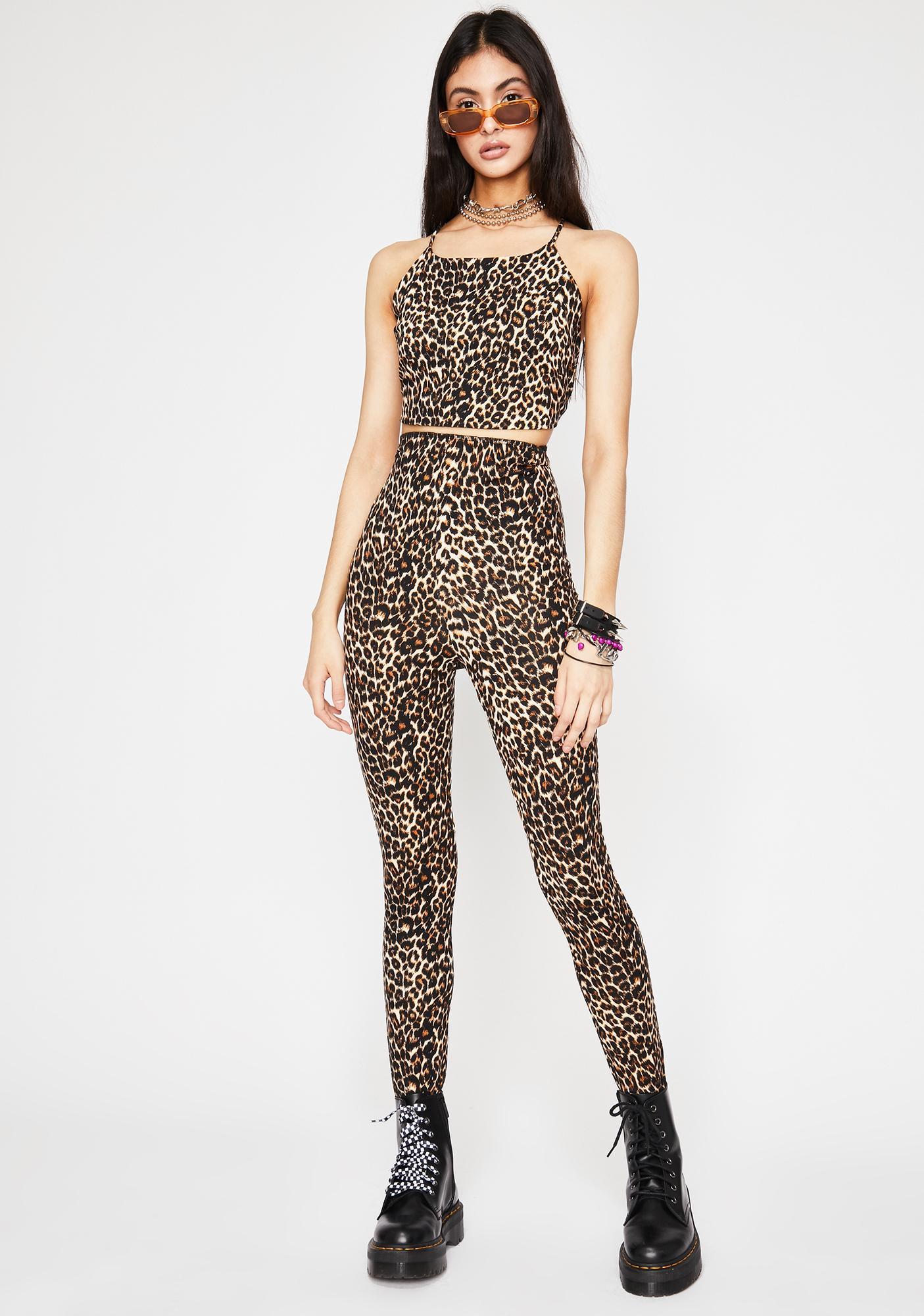Purrrfection Leopard Set
