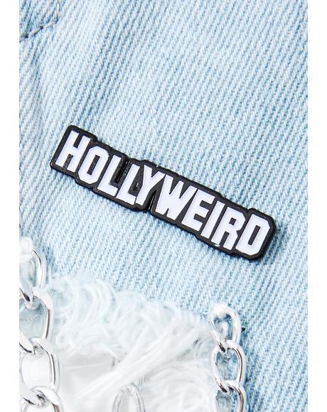 Hollyweird Pin