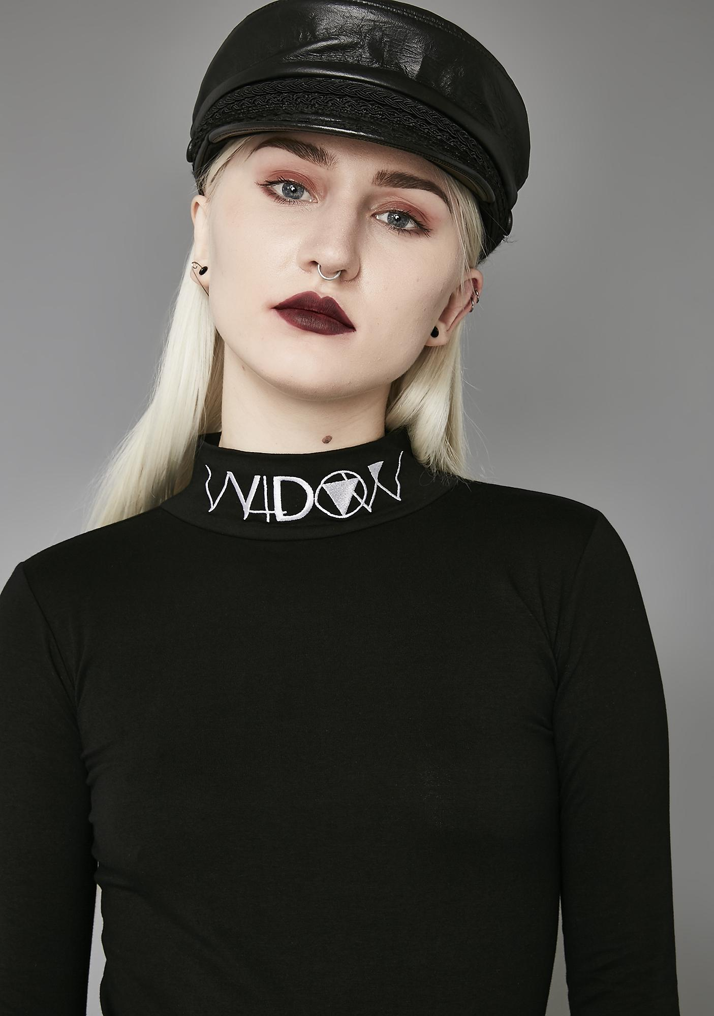 Widow Widow Long Sleeve Mock Neck