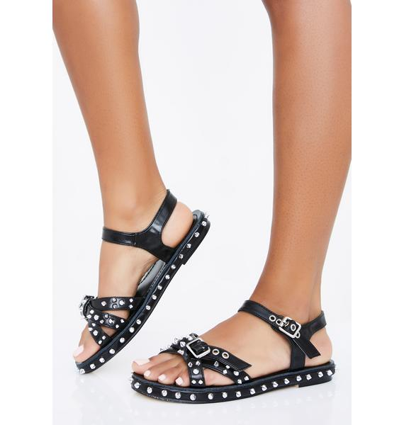 Spike The Punch Gladiator Sandals