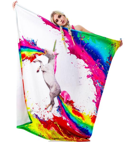 Unicorn Spew Blanket