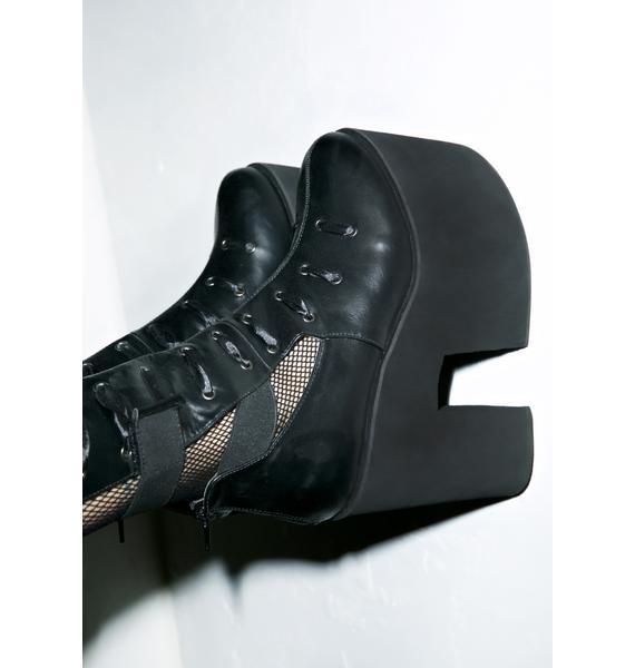 Y.R.U. Battle Platform Boots