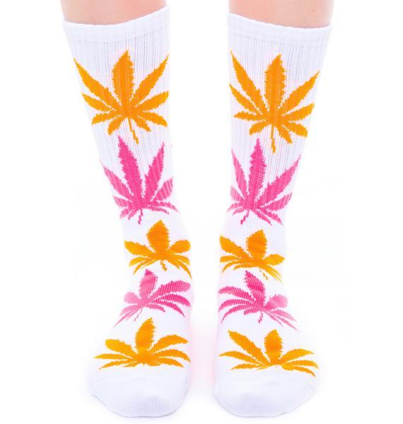 HUF Glow in the Dark Plantlife Sock